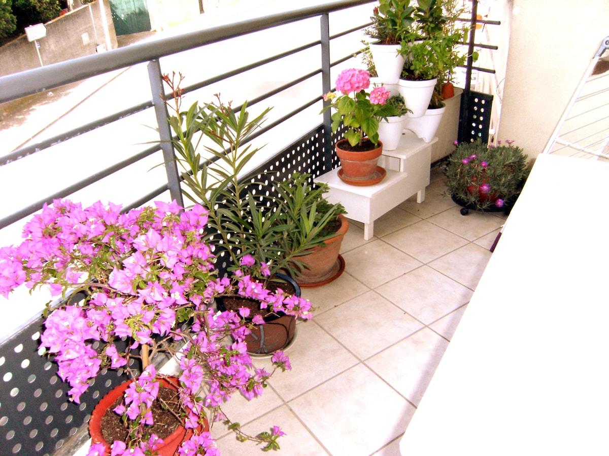 Grand studio avec terrasse à Sète