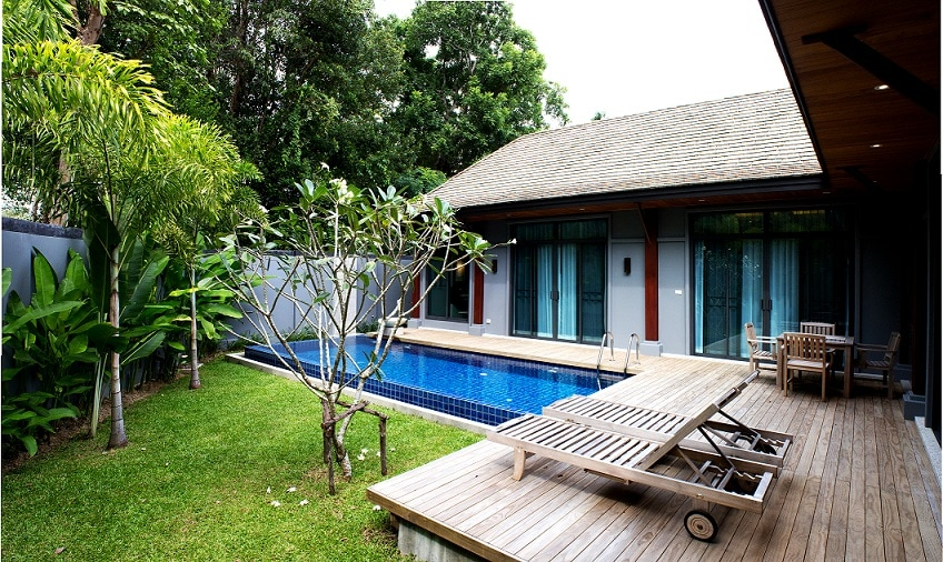3 bedroom pool villa in Nai Harn!