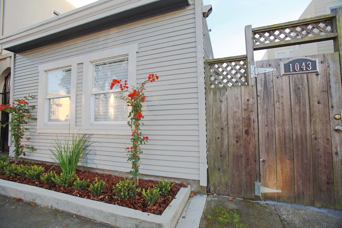 Private remodeled 1 bedroom cottage