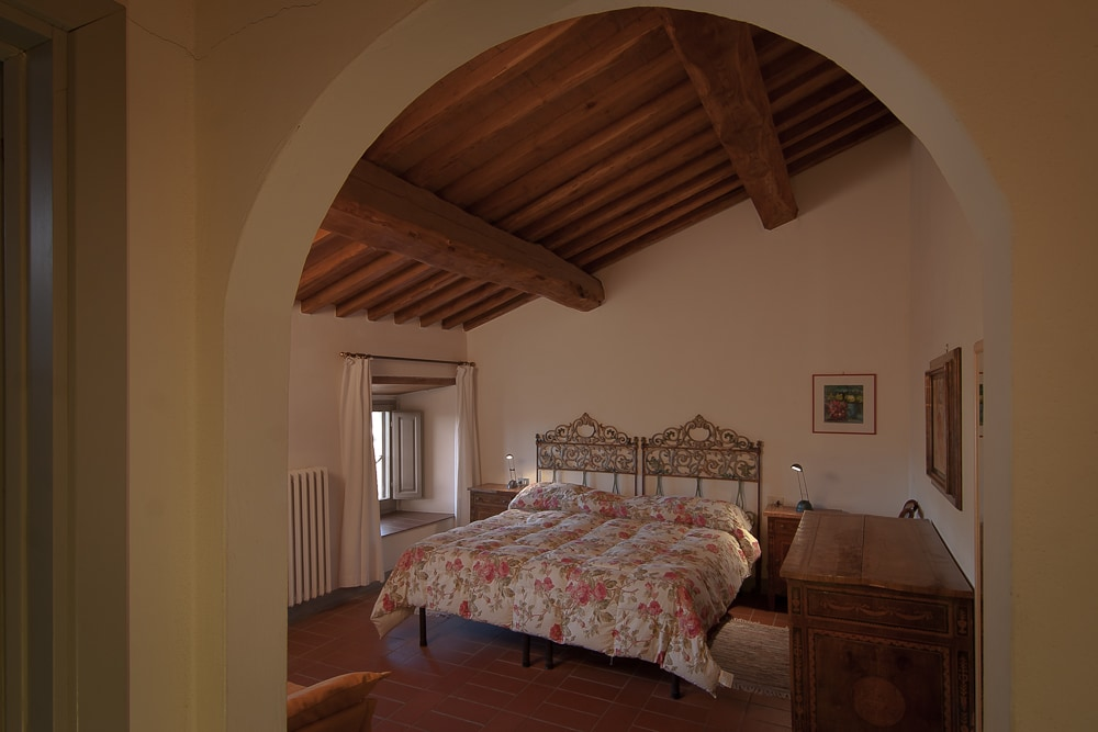 Double room in the mansard