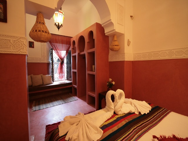 Room for 2 in riad