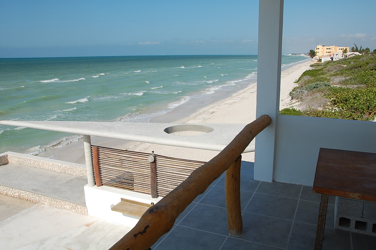 Beach house with spectacular view