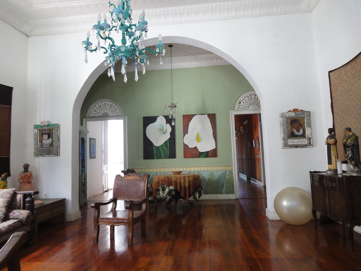 Colonial home in the historic Ponce