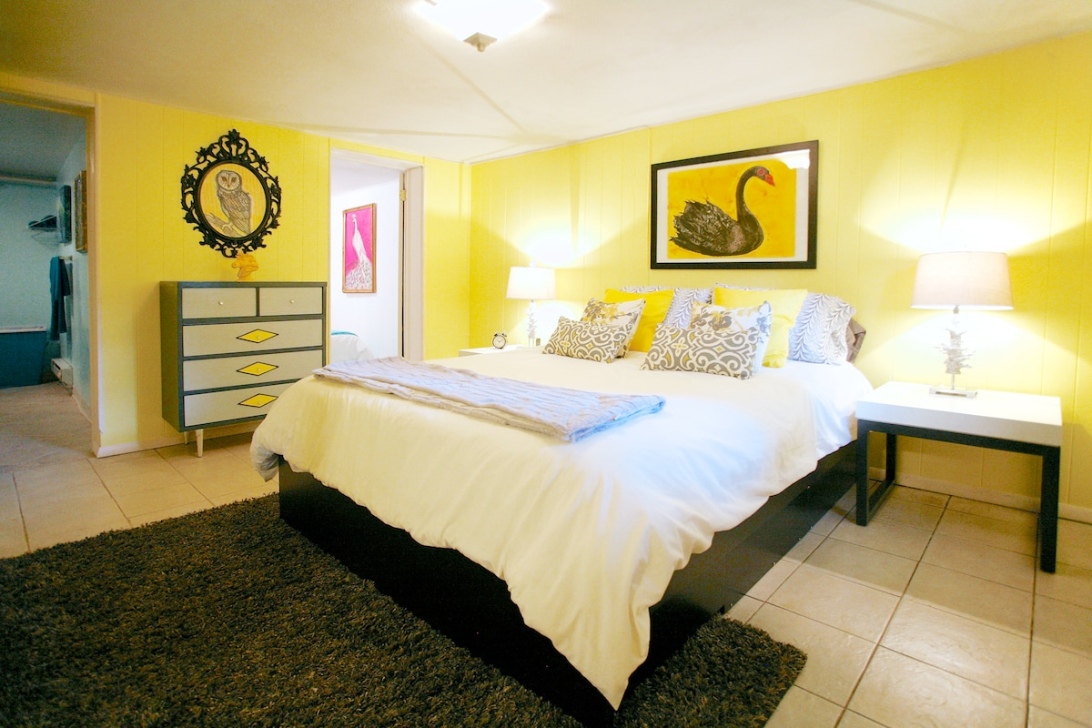Bedroom retreat to relax your cares away