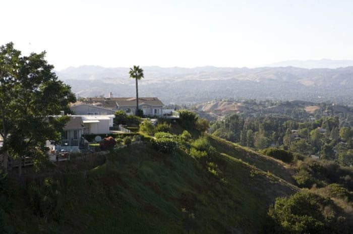 View of Clubhouse overlooking San Fernando Valley