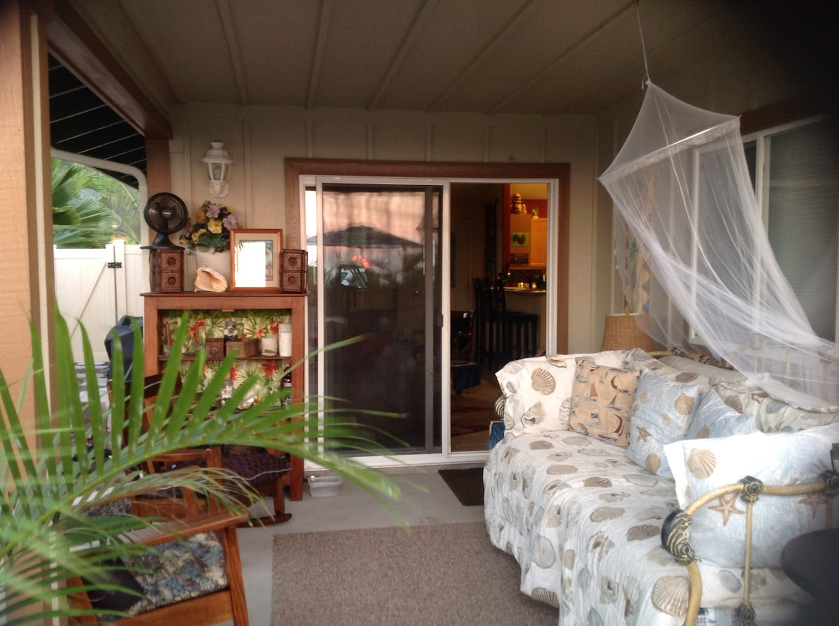 Cool breezes in a comfortable home