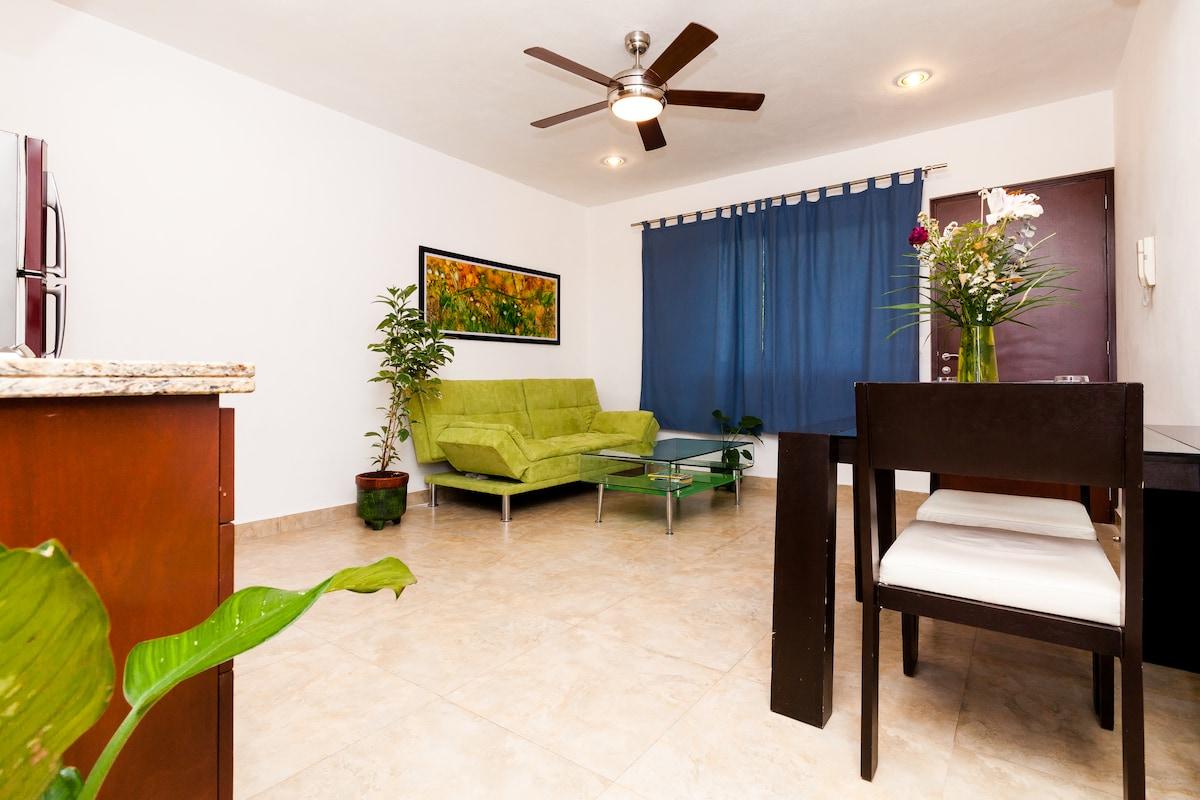 Kingsize 1bdr apartment deck&pool 3