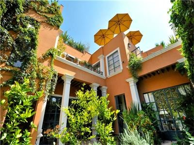 Casa Carolina from the garden - 3 floors of heaven!