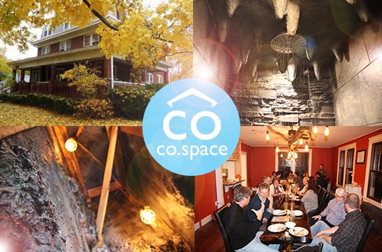 Stay in a cave with changemakers