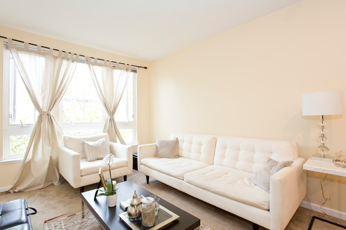 Living Room - Facing Inside Courtyard