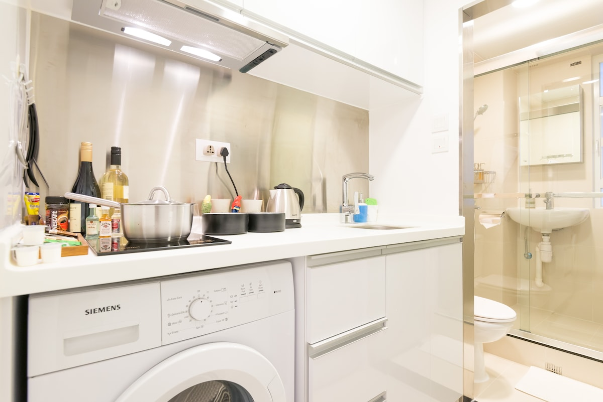 Kitchenette washing machine