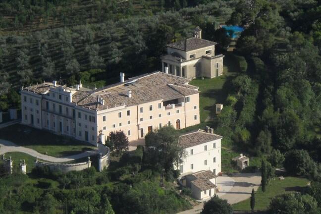"""The """"ANNEX """" of  the Villa Pianciani complex"""