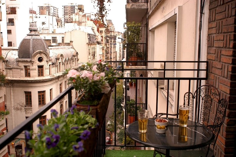 Great Balcony in Recoleta District