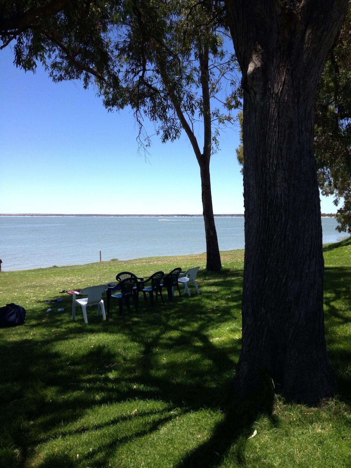 Lake Bonney Retreat in Barmera.