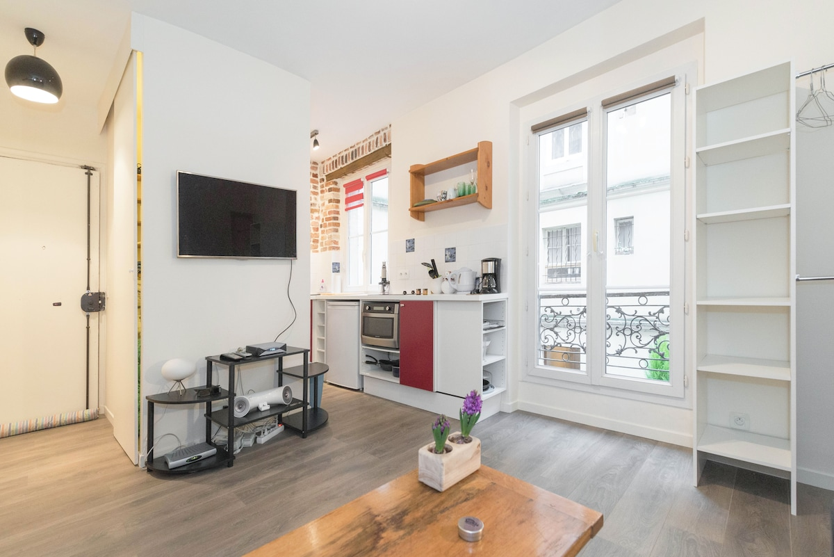 Cosy and charmant new studio near Montmartre