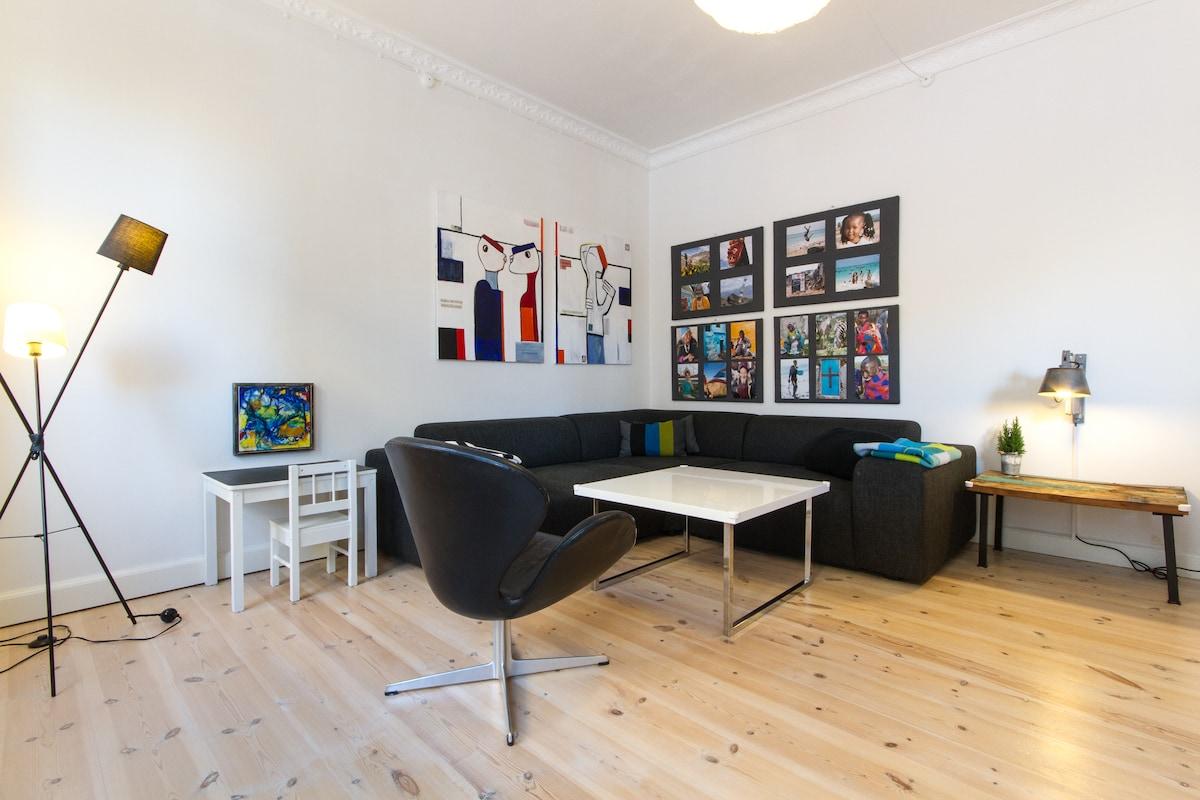 Nice and Big Apartment Copenhagen