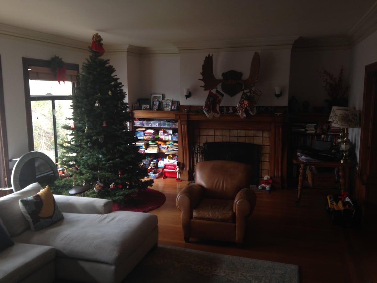 Very spacious; 2300+ Sq. Feet.  Large living room pictured.