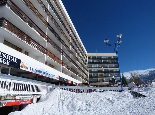 Studio au pied des pistes de ski