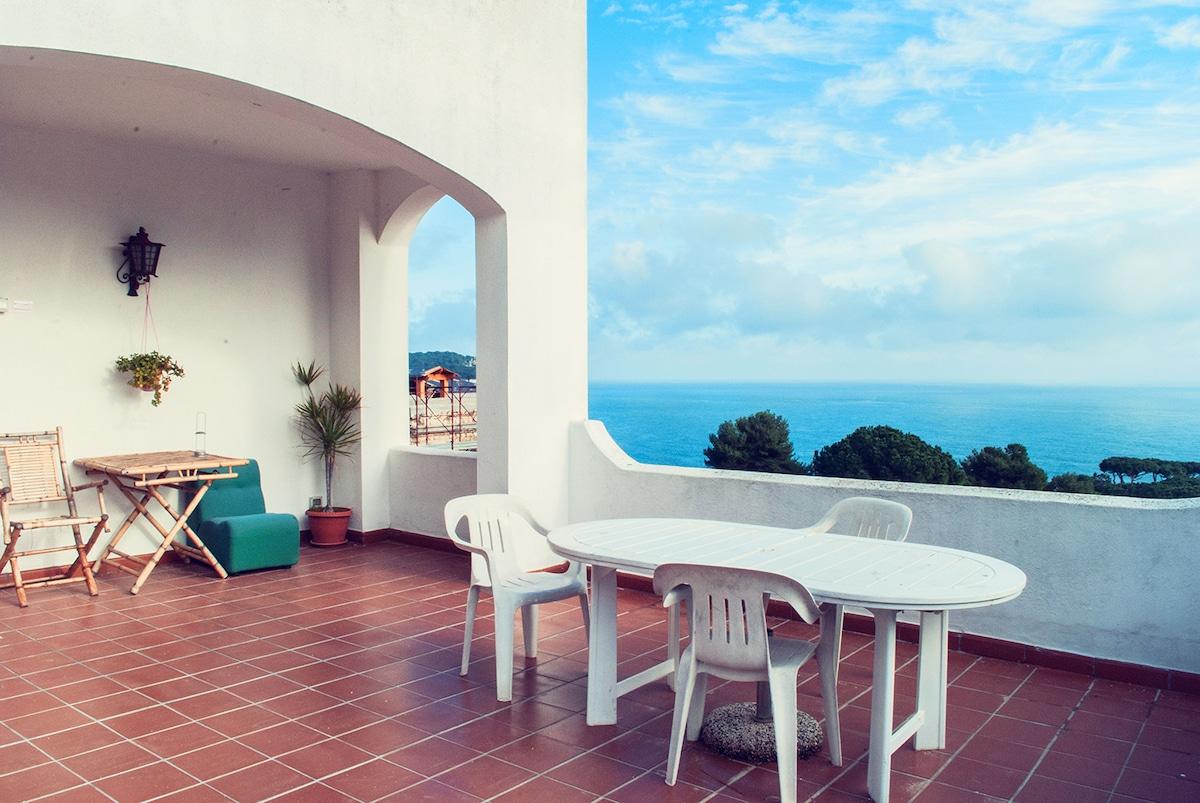 Climbing Sperlonga Gaeta + terrasse