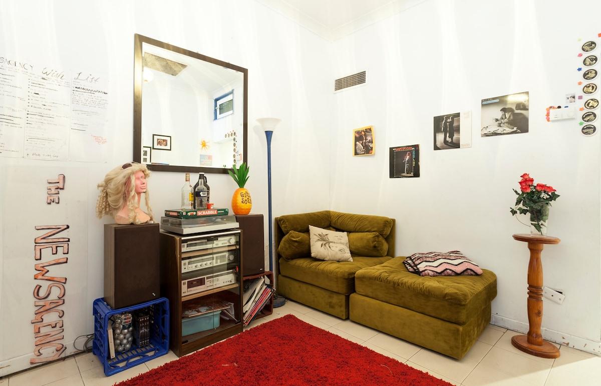 Wanna Crash on a Music Venue Sofa?