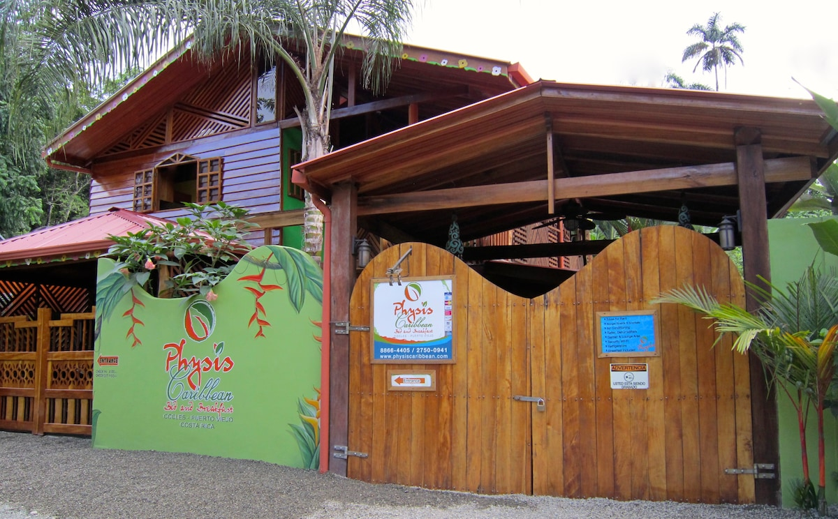 Physis Caribbean Bed and Breakfast from the street