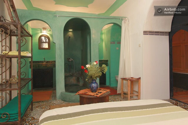 Wahid room bathroom with shower
