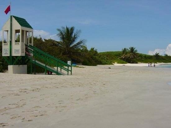 "Tent in Flamenco Beach"" ;)"