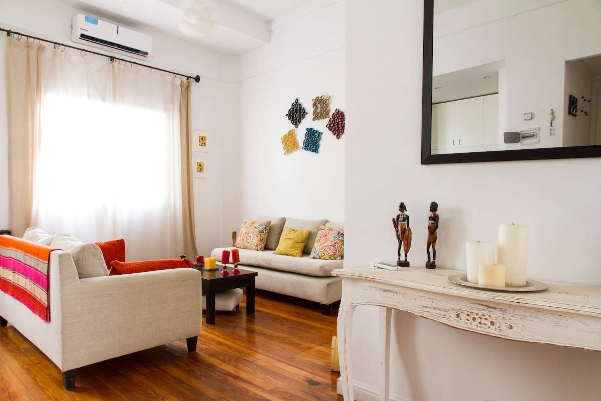 Cozy and Recicled Apartment Recolet