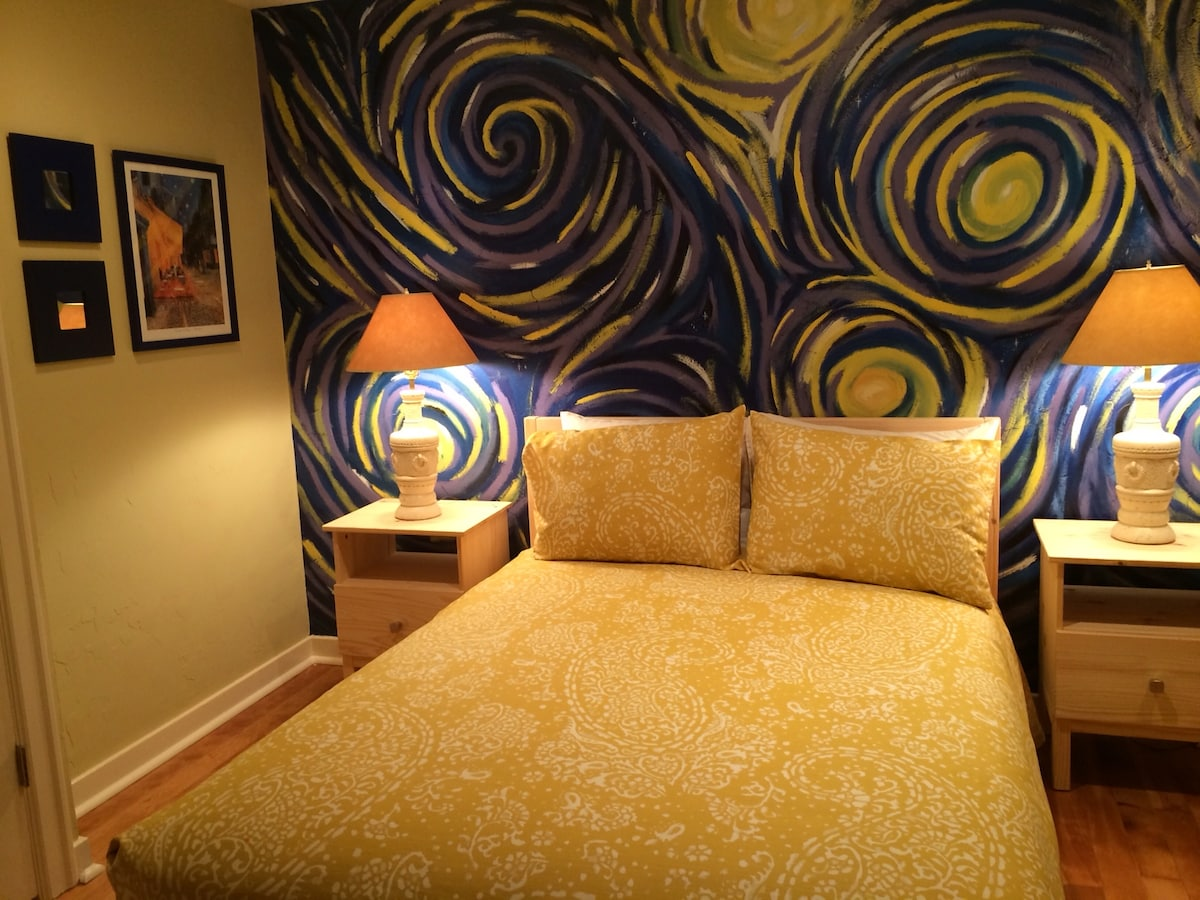 The Van Gogh Room in Downtown Oly
