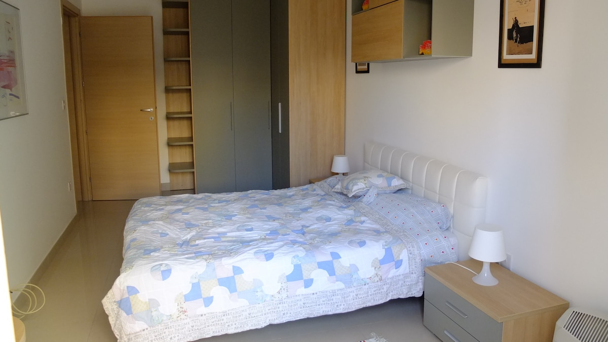 spacious room with loads of storage