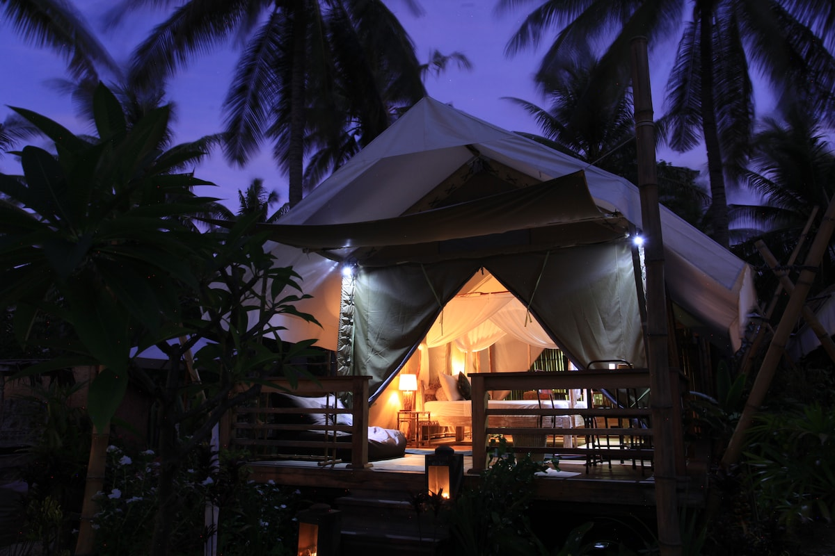 La Cocoteraie Ecolodge: Luxury tent