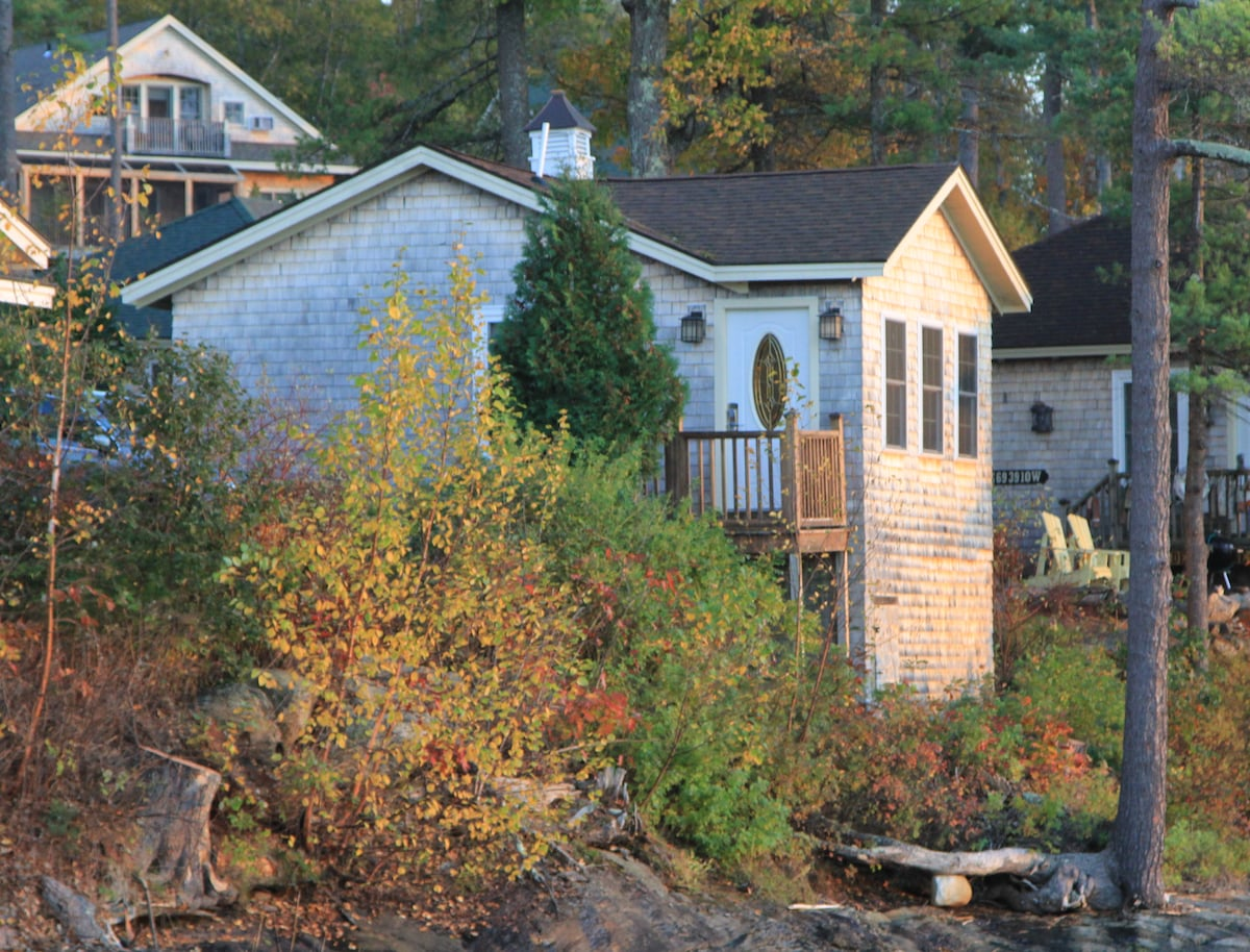 Cottage on the Sheepscot Riverbank