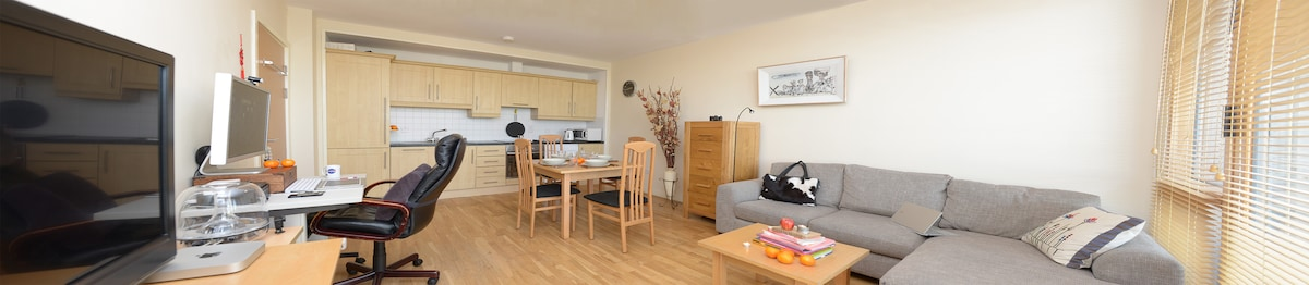 The main living room area. You are very welcome to have a family continental breakfast with us and tea/coffee.