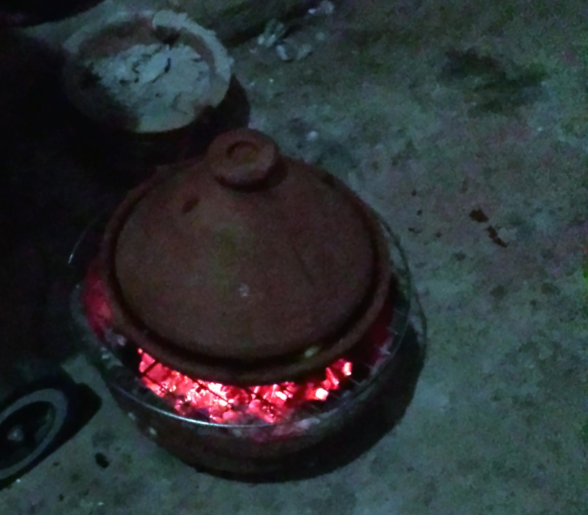 Moroccan cooking lesson