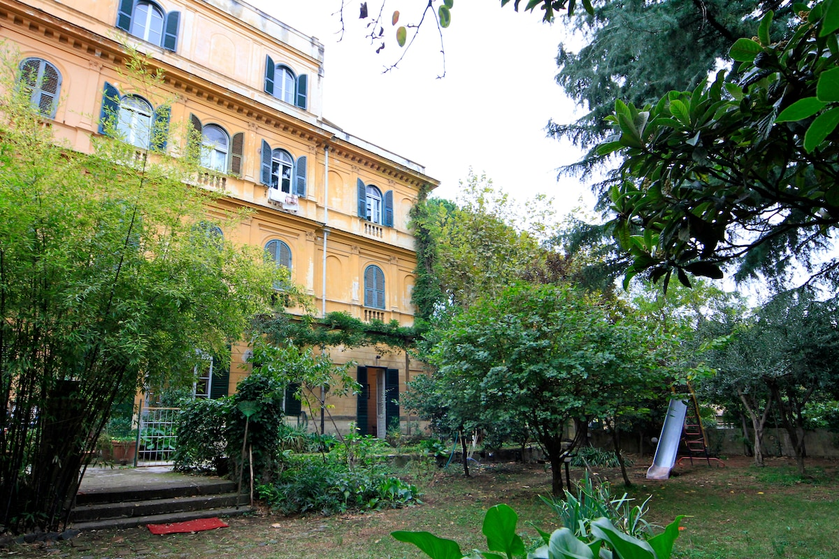shared private garden
