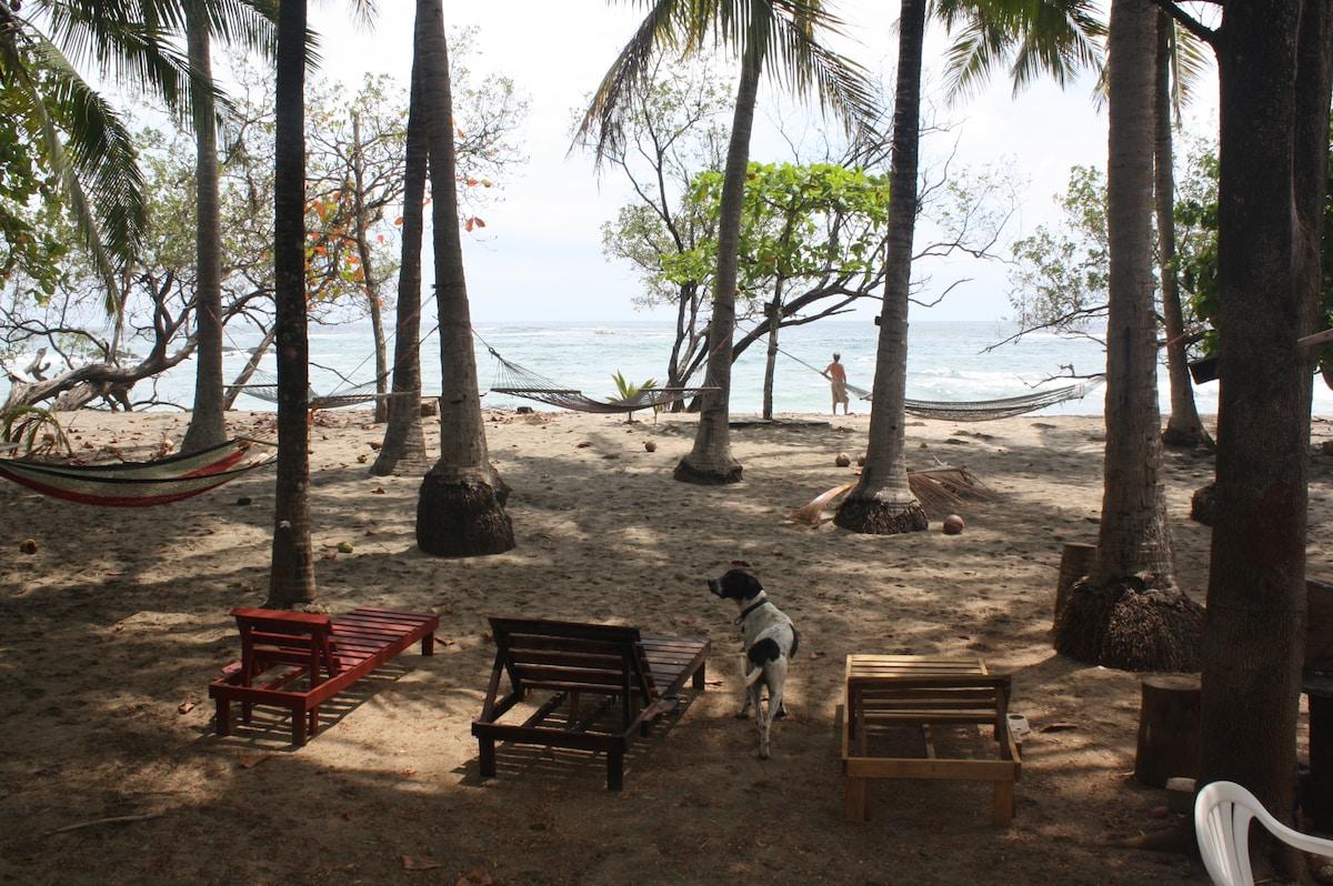 Vista Bela's Relax-Time hammock/beach chair area