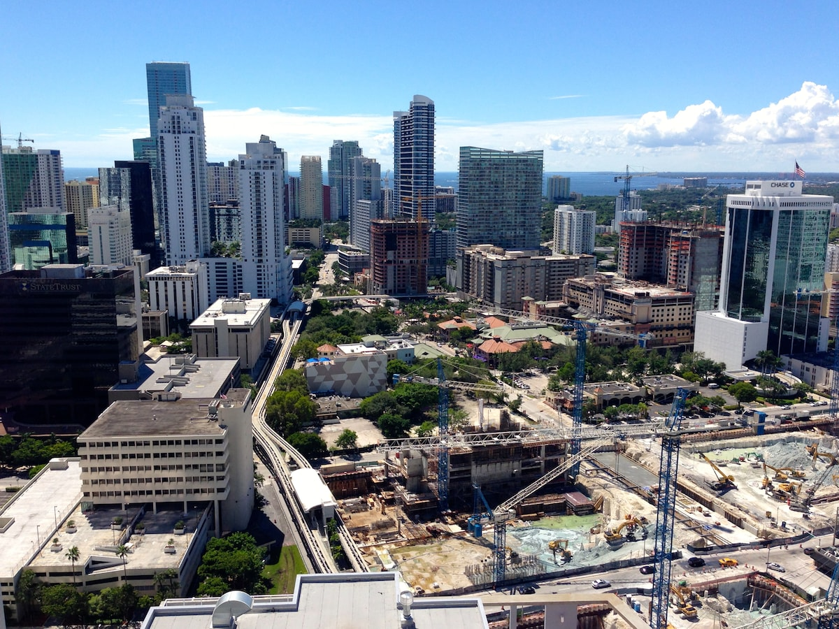 View - not obstructed by My Brickell built in front