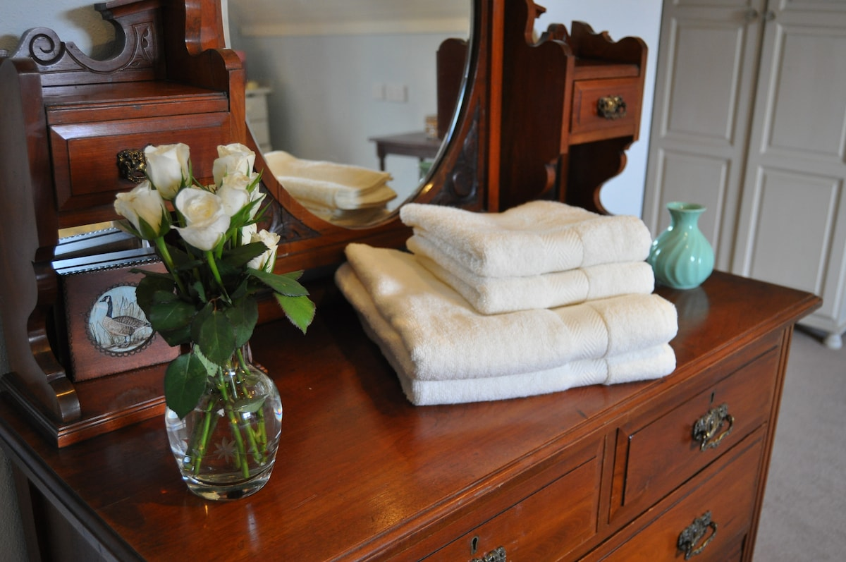 The Emer room furnished with Antique Furniture and  hand painted furniture