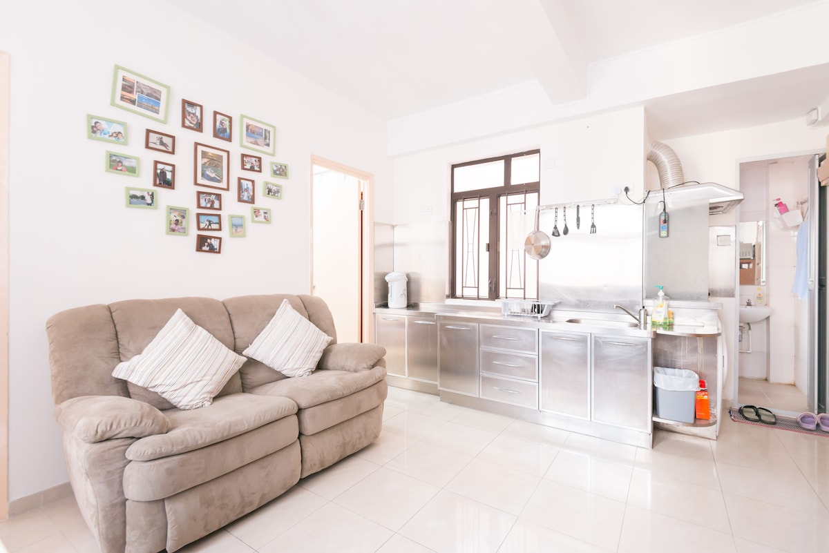 Living Room with comfortable sofa