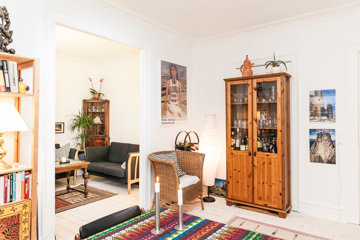 Bright and cosy 3 rooms apartment