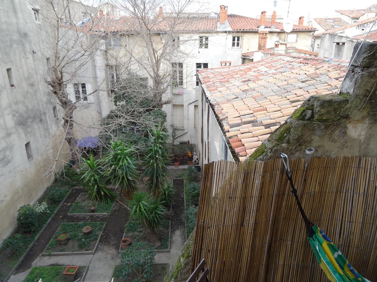 Vue du coin terrasse