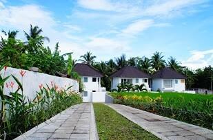 the villa complex