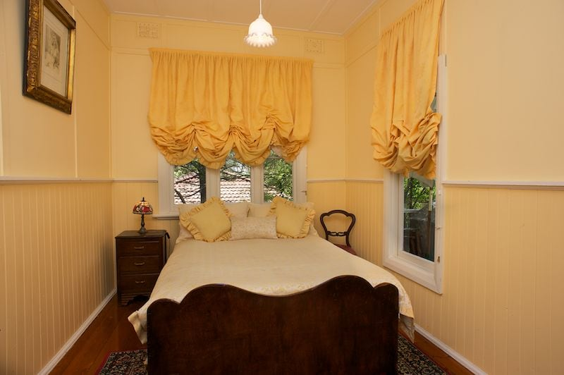 Old world charm and character in the 2nd bedroom