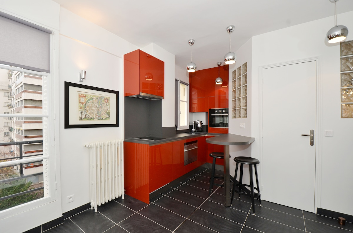 20m² Studio apartment for two pers.