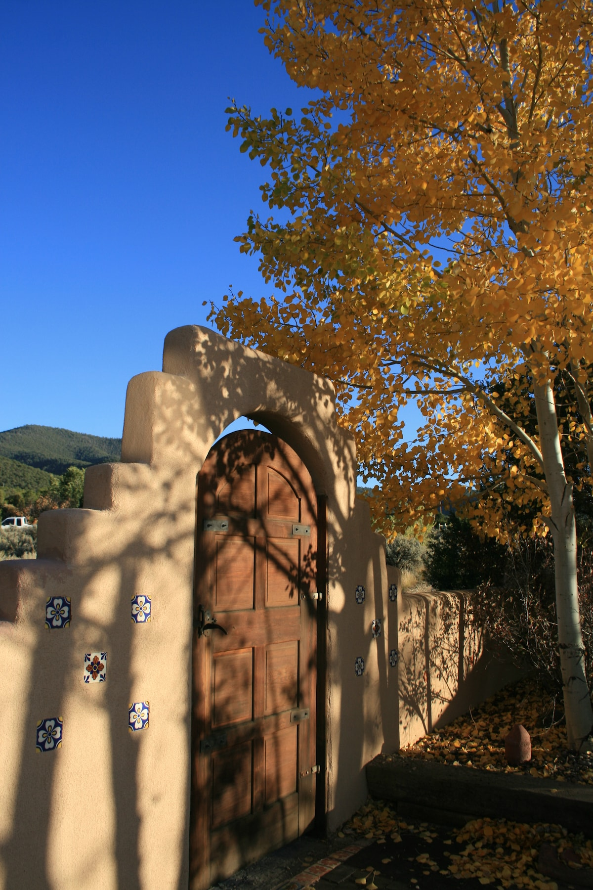 """....the entrance gate to our """"Hideaway"""""""