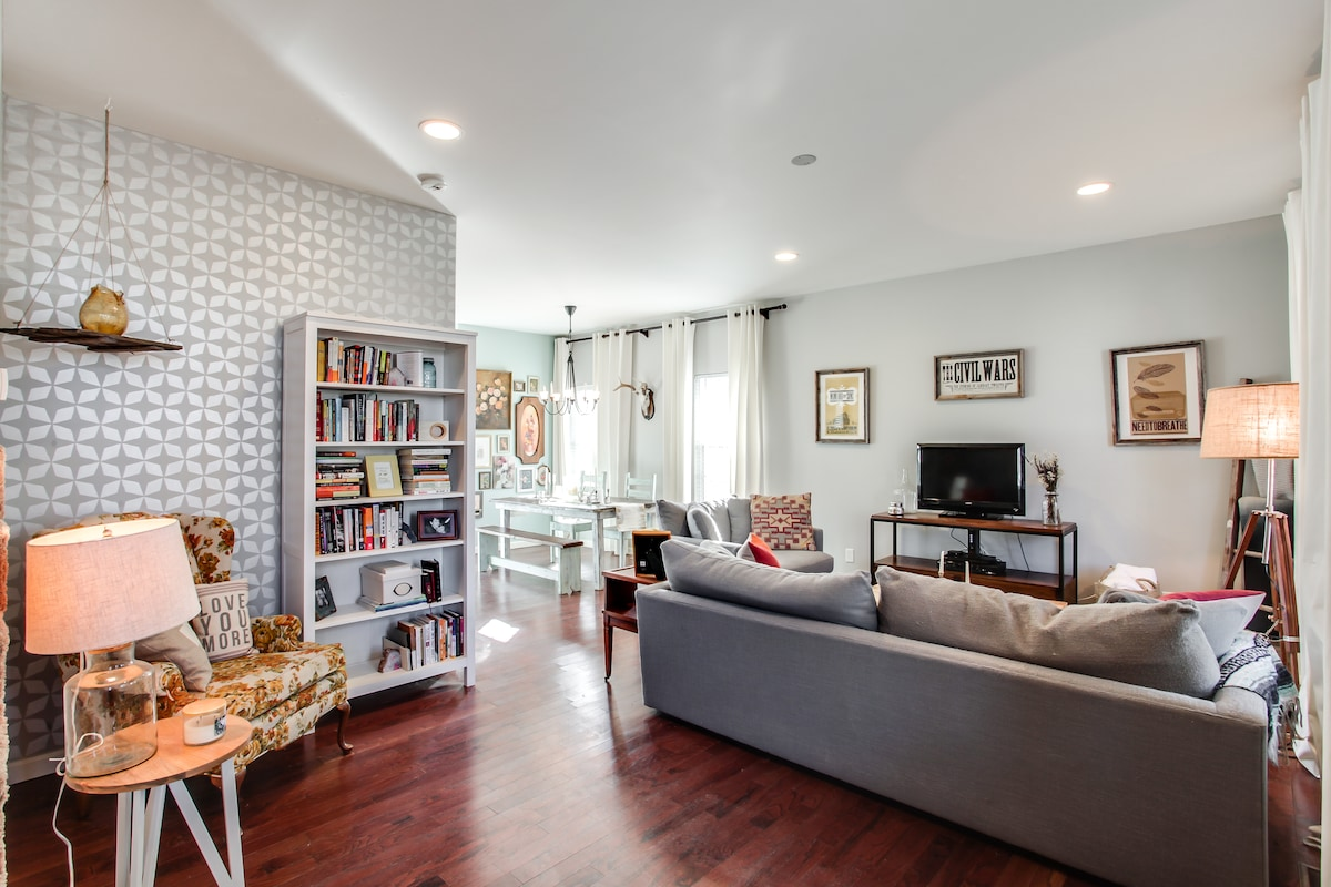 Living Room + Reading Nook
