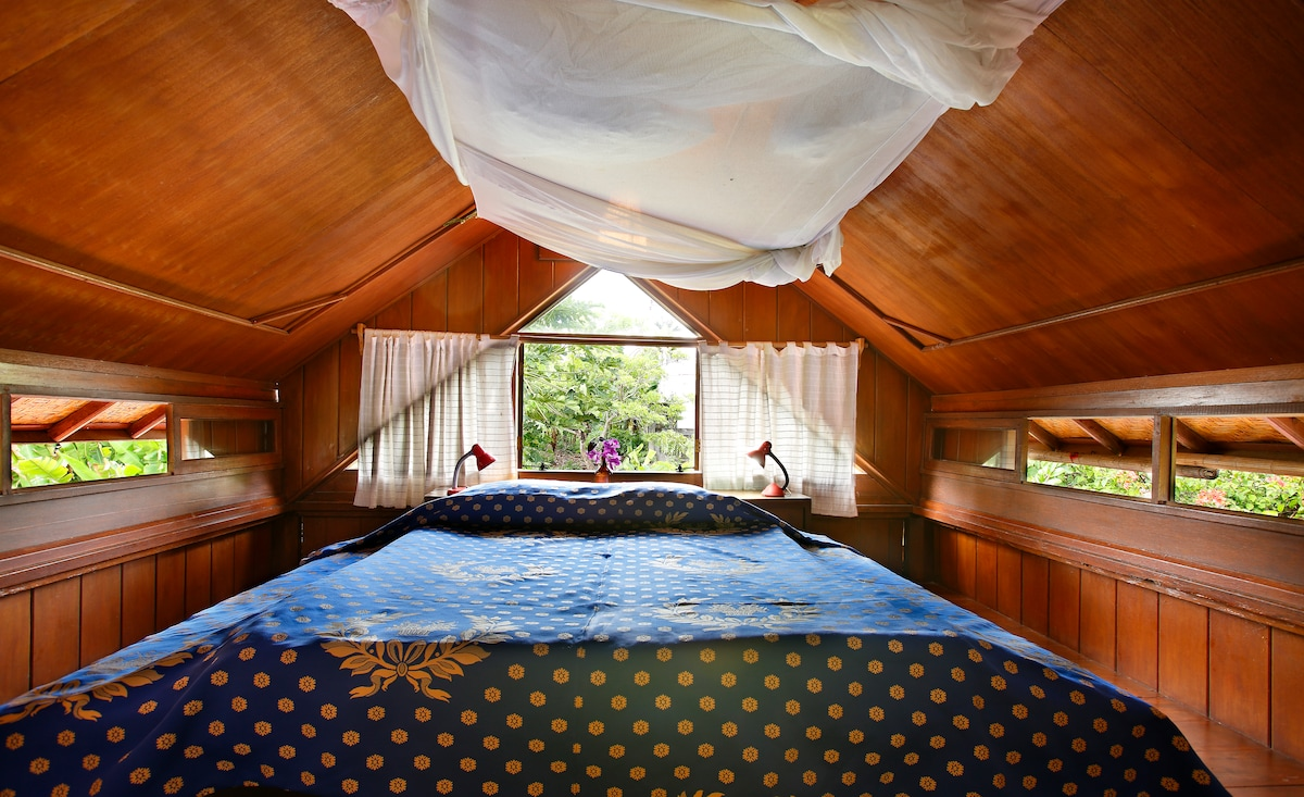 Attic with view in North Sanur