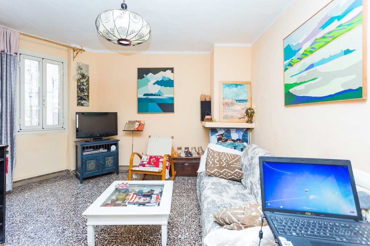 Living room and wi-fi