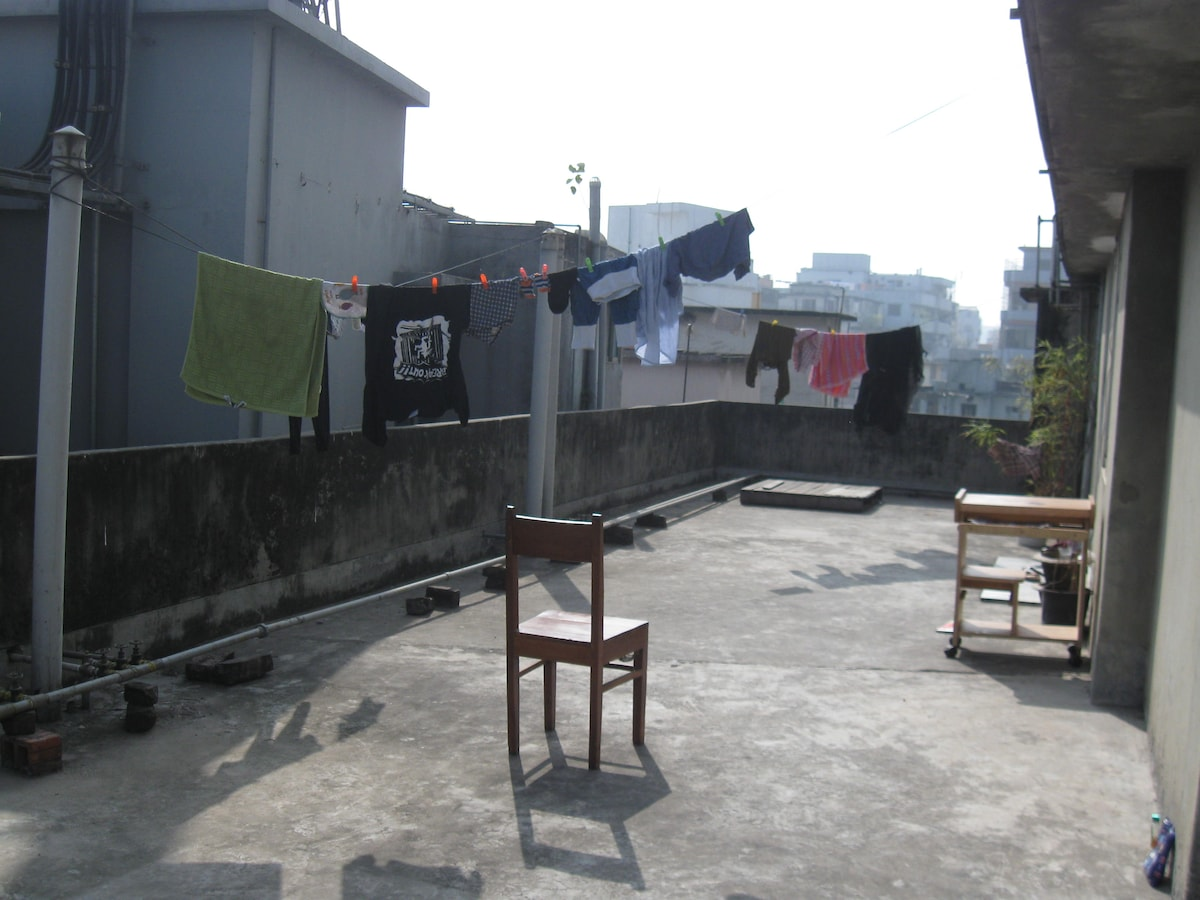 Rooftop Studio Aparment withTerrace