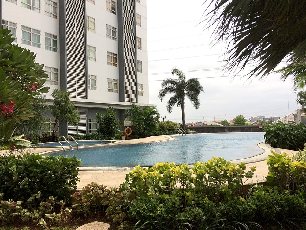 Public Facility - Terrace, Gym, Swimming Pool, Laundry, Food Court and Spa